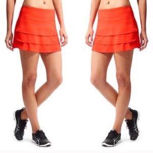 Athleta swagger skirt-orange